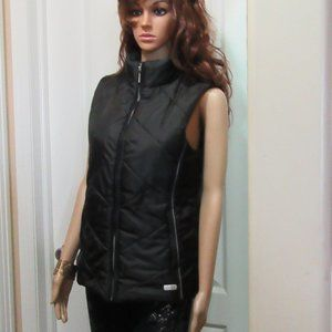 Black vest quilted MJR Possible small/ medium